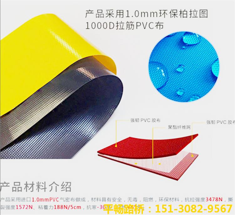 【混凝土拦茬气囊】高低标号砼防串标充气气囊3
