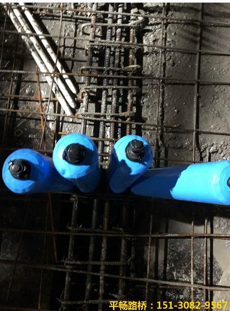 高低标号混凝土浇筑如何隔断拦茬-梁柱隔断气囊来帮忙4