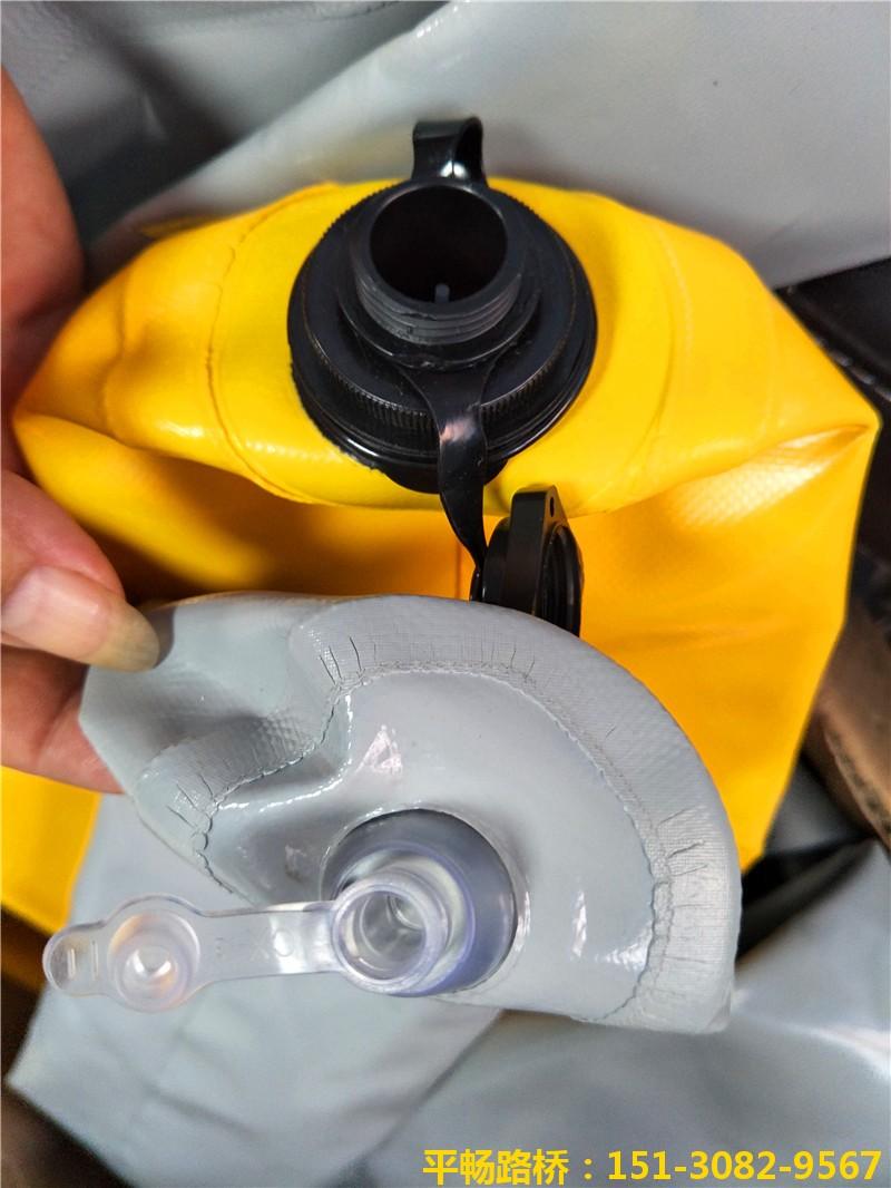 充气式隔断气囊-超高层建筑高低标号混凝土拦茬气囊1