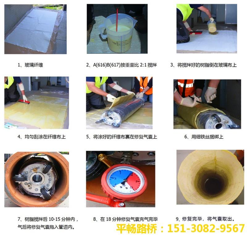 非开挖管道点位CIPP局部修复树脂供应厂家 工艺详解7